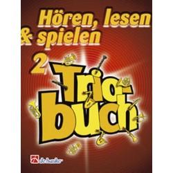 Oldenkamp, Michiel: Hören lesen und spielen Band 2 : Triobuch für Bariton/Euphonium in C