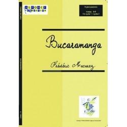 Macarez, Frédéric: Bucaramanga : pour 6 percussions, partition et parties
