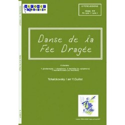 Tschaikowsky, Peter Iljitsch: Dans de la Fee Dragee : pour 6 percussions partition et parties