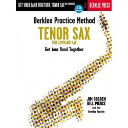 Berklee Practice Method: Tenor and Soprano Sax Tenor and Soprano Saxophone Buch + CD