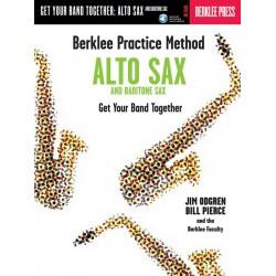 Odgren, Jim: Berklee practice method (+CD) : for alto and baritone saxophone Pierce, Bill, Koautor