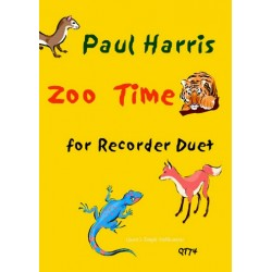 Harris, Paul: Zoo Time for 2 recorders score