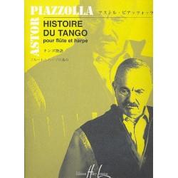 Piazzolla, Astor: Histoire du tango : pour flute et harpe Vehmanen, Kari, arr.