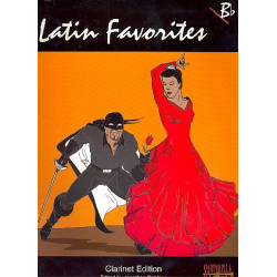Latin Favorites : clarinet edition (or b flat instruments)