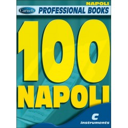 100 Napoli : for c instruments melody line and chord symbols professional books series