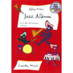Wilson, Jeffery: Jazz album (+CD): for c, b flat or e flat instrument and piano