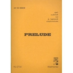 Beekum, Jan van: Prelude : Spiel- und Studienbuch für Zug- posaunisten (Anfänger)
