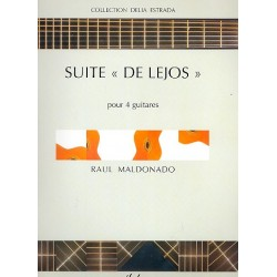 Maldonado, Raul: Suite De Lejos : pour 4 guitares, partition+parties