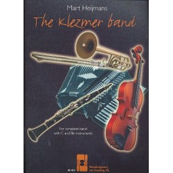 Heijmans, Mart: The Klezmer band : for complete with c and b flat instruments score and parts