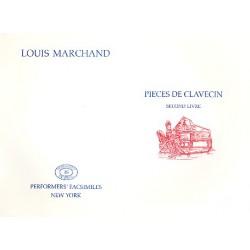 Marchand, Louis: Pieces de clavecin vol.2 : Faksimile