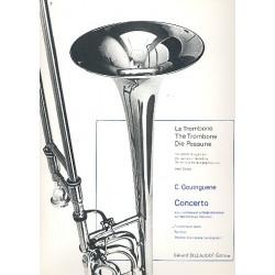 Gouinguene, Christian: Concerto pour trombone et orchestra a cordes : pour trombone et piano