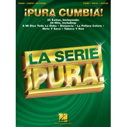 Pura cumbia : 25 Hits für piano/vocal/guitar la serie pura