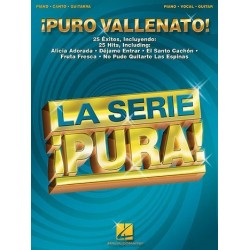 Pure vallenato : 25 Hits für piano/vocal/guitar la serie pura