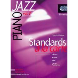 Standards a la carte vol.2 (+CD) : pour jazz piano