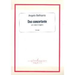 Bellisario, Angelo: Duo concertante op.119 : per arpa e organo