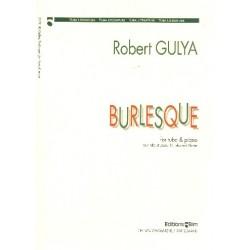 Gulya, Robert: Burlesque für Tuba und Klavier (1995)