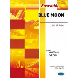 Rodgers, Richard: Blue moon : for flexible ensemble score+20parts