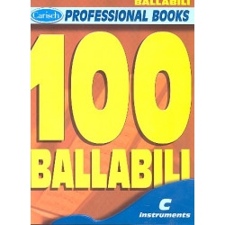 100 ballabili : for c instruments, melody line and chord symbols