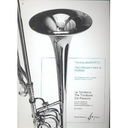 Desportes, Yvonne Berthe Melitta: Des chansons dans la coulisse : pour trombone ténor et piano