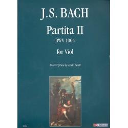 Bach, Johann Sebastian: Partita Nr.2 BWV1004 : per viola da gamba Denti, C., ed