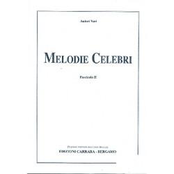 Melodie celebri vol.2 : per il dilettante d'armonio Bekannte Melodien f├╝r Harmonium