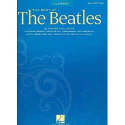 The best of the Beatles : 89 songs for clarinet solo