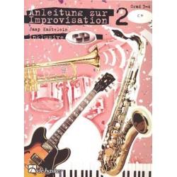 Kastelein, Jaap: Anleitung zur Improvisation Bd.2 (+CD) : f├╝r C-Instrumente im Bass- schl├╝ssel