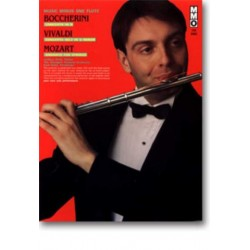 Music minus one flute : Boccherini, Vivaldi and Mozart for flute, book+CD