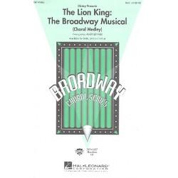 The Lion King : Choral Medley für 3stg gem Chor (SAB) und Klavier