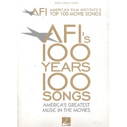 American Film Institute's top 100 movie songs : for piano/vocal/guitar