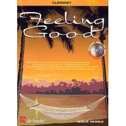 Searle, Leslie: Feeling good (+CD) : für Klarinette und Klavier 17 reizvolle Stücke