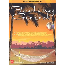 Searle, Leslie: Feeling good (+CD) : für Altsaxophon 15 reizvolle Stücke