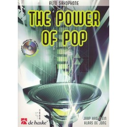 Kastelein, Jaap: The Power of Pop (+CD) : für Altsaxophon
