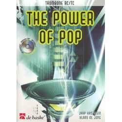Kastelein, Jaap: The power of pop (+CD) : für Posaune (Bass- und Vl- Schlüssel