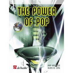 Kastelein, Jaap: The power of pop (+CD) : f├╝r Trompete Jong, K. de, Koautor