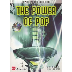 Kastelein, Jaap: The Power of Pop (+CD) : für Sopran-/Tenorsaxophon