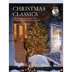 Christmas classics (+CD) : für Horn in F oder Es (Solo oder Duett) easy instrumental solos or duets