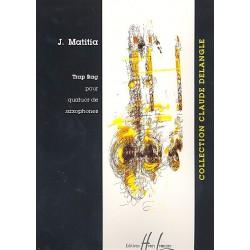Matitia, Jean: Trap rag : pour quatuor de saxophones, partition+parties