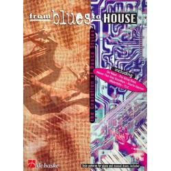 Leutscher, Peter: From Blues to House : Style Patterns für Keyboard (Piano) und Drums