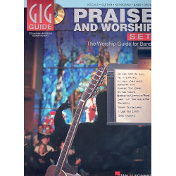 Praise and Worship Set (+CD) : the worship guide for bands (vocals, guitar, keyboard, bass and drums)