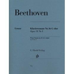 Beethoven, Ludwig van: Sonate G-Dur op.31,1 : für Klavier