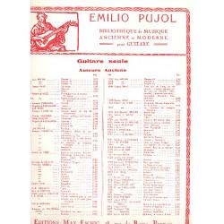Cara, Marchetto: Io non compro : Frottola, pour chant et guitare Pujol, Emilio, Transcription