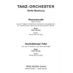Thomas, Peter: Raumpatrouille Orion und Unschuldsengel Polka : f├╝r Blasorchester Wolf-de Rooy, Hilmar, Bearb.