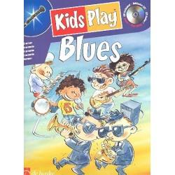 Kids play Blues (+CD) : f├╝r Klarinette Kastelein, J., ed