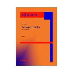 Ravenal, Dick: T-bone tricks : Solo f├╝r Posaune und Blasorchester, Partitur+Stimmen