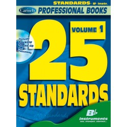 25 standards vol.1 (+CD) : for b flat instruments professional books series