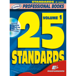 25 standards vol.1 (+CD) : for e flat instruments professional books series