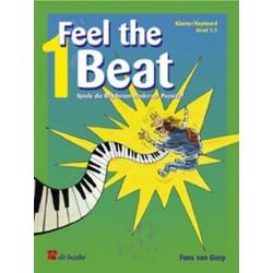 Gorp, Fons van: Feel the Beat vol.1 : für Klavier/Keybaoard Spiel die Rhythmen moderner Popstile