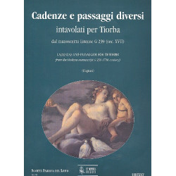 Cadenze e passaggi diversi intavolati per tiorba dal manoscritto estense G239