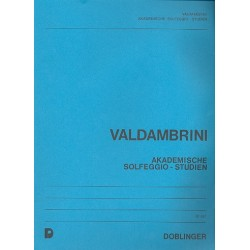 Valdambrini, Francesco: Akademische Solfeggio-Studien